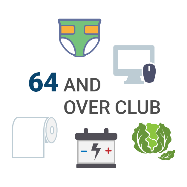 64 and Over Club