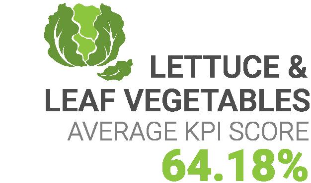 Lettuce KPI Score