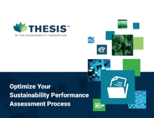 Optimize Your Sustainability Performance Assessment Process